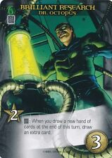 DR OCTOPUS Upper Deck Marvel Legendary BRILLIANT RESEARCH