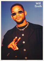 POSTER: MOVIE ACTOR : WILL SMITH - POSED -  FREE SHIPPING ! #FPO-420 RC44 E