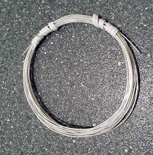 925 Sterling Silver ROUND Half Hard Wire Coils 1' thru 20' Gauges 14 thru 26 USA
