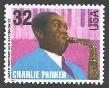 US. 2987. Charlie Parker (1920-55). Jazz Compose & Saxphnist. MNH. 1995