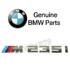 For BMW M235i 3.0 L L6 xDrive Emblem for Trunk Lid Genuine 51-12-8-055-967