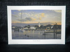 "Phillip Philbeck ""Ocracoke Memories"" Lighthouse Open Edition Lithograph"