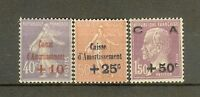 """FRANCE STAMP TIMBRE N° 249/51 """"CAISSE AMORTISSEMENT 2eme SERIE 1928"""" NEUF xx SUP"""