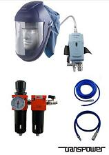 Breathing Air Filter Set 2 Stage Air Visor MPV Complete Breathing Reg Coalescer