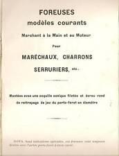 CATÁLOGO 1908 MÁQUINAS UN TALADRO