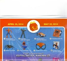 MCDONALD'S 2014  THE AMAZING SPIDER-MAN 2  FOR BOYS