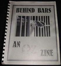 """OZ Fanzine """"Behind Bars"""" SLASH"""