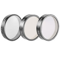 Neewer Filter Set Polarizer ND4 ND8 for DJI Phantom 3 Professional & Advanced