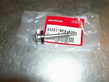 New Honda CRF450 TRX450R CRF450X TRX450ER 450R engine valve cover bolt and seal