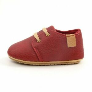 Luxury Shoes For Newborn Baby Soft Leather Moccasins Rubber Sole First Walkers