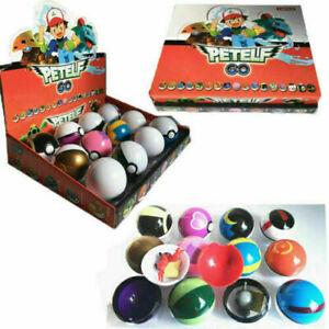 Pokèmon Ball Pokeball GO Actionfiguren Kinder Kindergeschenk Spielzeug 12PCS Set
