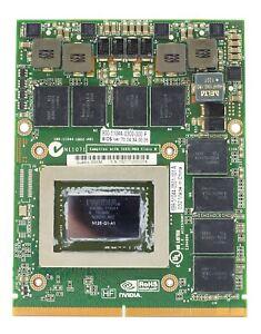 HP EliteBook 8760W Mobile Workstation NVIDIA Quadro 3000M 2GB GDDR5 GPU
