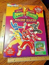 Vintage RoseArt Mighty Morphin Power Rangers Figure Maker Hard to Find Rare L@@K