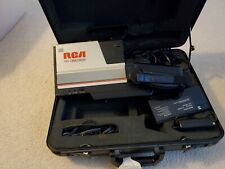 Vintage Rca Vhs Camcorder Cmr300 with Case & Many Accessories