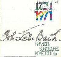 J. S. Bach - Nikolaus Harnoncourt / Günter Noris – 1721 1971 - Brandenburgische