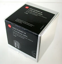 LEICA M Elmarit Asph 2,8/28 28 28mm F2,8 2,8 3998xxx adaptable A7 6-bit 11606
