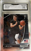2020-21 Panini Prizm Lamelo Ball Rookie Draft RC #3 GEM MINT 10 Hornets ROY
