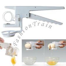Egg Cracker Opener Handheld York Separator Strip Shell Manual Handy Egg Breaker