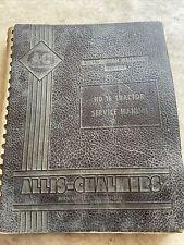 Allis Chalmers Hd16 Dozer Service Manual