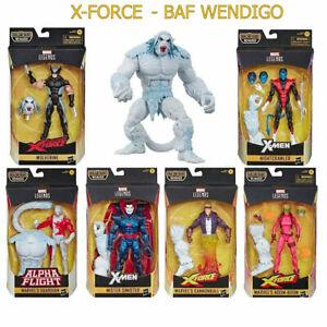 X-Force Marvel Legends 6-Inch Action Figures BAF WENDIGO - NIB