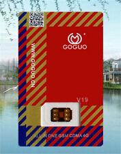 GOGUO V19 SIM Card unlock iPhone 5 6 6s 7 plus For ALL iOS GSM CDMA 2/3/4G