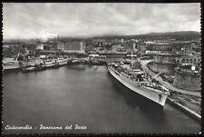cartolina CIVITAVECCHIA panorama del porto