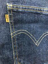 LEVI'S Levis Vintage Clothing 606 Big E Jeans 28 x 28 skinny Tapered 1960s LVC
