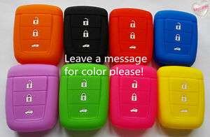 SILICONE CAR KEY COVER fits HOLDEN COMMODORE VE 3 BUTTON NON FLIP KEY