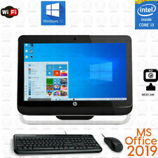 HP AIO All-in-one PC Computer 3.1 GHZ 8GB RAM Win10 SSD / HDD OFFICE 2019