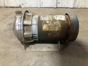 "G&L Goulds NPE 1ST1F5B4 1-1/2HP 316SS Centrifugal Water Pump 3450RM 1""X1-1/4""-6"