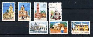 Australia MNH 1982 Historic Post Offices 7 Values K431