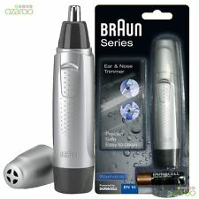Braun Exact Series Nose & Ear Trimmer Washable Mens Precision Nasal Shaver EN10