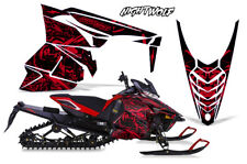 Yamaha SR Viper RTX Decal Wrap Graphic Kit Sled Snowmobile 14-16 NIGHTWOLF RED