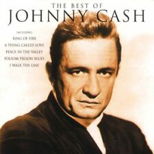 JOHNNY CASH THE BEST OF CD COUNTRY ROCK NEW
