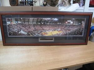 FINAL Last GAME COLE FIELD HOUSE MARYLAND TERPS 36 x 9 PHOTO Framed