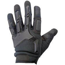 Black Raptor Lightly Padded Amara Leather Tactical Style Protective Gloves Small