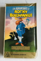 The Adventures Of Rocky And Bullwinkle VHS Blue Moose VINTAGE 1991
