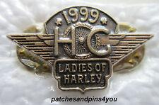 Harley Davidson HOG Ladies Of Harley 1999 Renewal Pin **NEW** FREE U.K. POSTAGE!