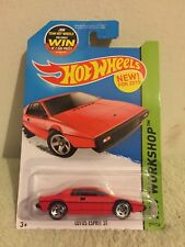 New 2013 Hot Wheels Workshop Lotus Espirit S1