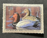 WTDstamps - #RW60 1993 - US Federal Duck Stamp - Mint OG NH - Tiny Tear