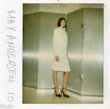 POL451 Polaroid Photo Vintage Original mode fashion mannequin model femme woman