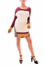 One Teaspoon Women's Authentic Knit Sweater Dress Multi Size S RRP $168 BCF78