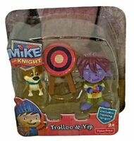 Mike the Knight Troller & Yip Action Figures Toy Poseable Set CBeebies TV Show
