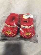 Disney Pixar Cars Lighting McQueen Slippers Size 5-6 New Child
