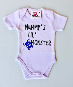 Cute Baby Clothes - Romper with print - Mummy's Lil' Monster
