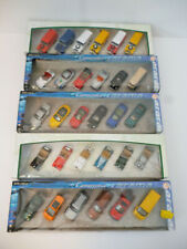 Lot x 5 Hongwell Cararama Boxed 6 Pack Sets Of Model Vehicles Scale 1:72