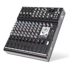Kinsman KM12FX Mixer 12 Channel Inc FX Band Studio Karaoke