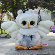 Soft toys Stuffed Animals White big eyed Owl plush doll 20 CM kids lovely