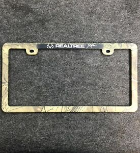 Realtree Extra License Plate Frame Plastic Camouflage Camo Car Truck Hunting F
