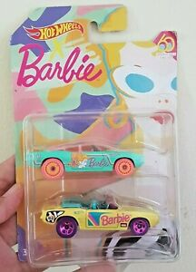 NEW BARBIE HOT WHEELS Birthday CELEBRATION OF THE 60Th Barbie PTMI ULTRA RARE